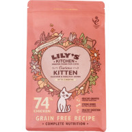 Lilys Kitchen Curious Kitten Chicken Complete Kitten Food