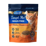 HiLife Tempt Me Grain Free Chicken Dinner Adult Cat Food 300g