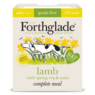 Forthglade Complete Spring Lamb with Veg & Mint Adult Dog Food 395g x 7