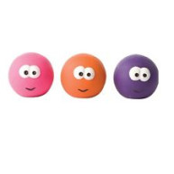 Good Boy Face Balls Dog Toy x 1