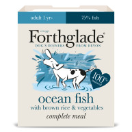 Forthglade Complete Fish Adult Dog Food 395g x 18