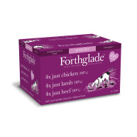 Forthglade Natural Menu Multipack Dog Food 395g x 12