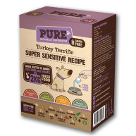 Pure Pet Food Turkey Terrific Dehydrated Dog Food