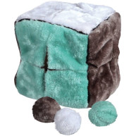 Trixie Cube & 4 Play Balls Dog Toy