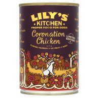 Lilys Kitchen Coronation Chicken Adult Dog Food 400g x 6