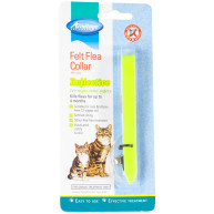Armitage Reflective Felt Flea Collar for Cats