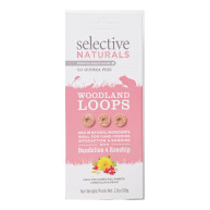 Supreme Selective Naturals Woodland Loops Small Animal Treats