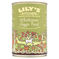Lilys Kitchen Veggie Feast Dog Food 375g x 6