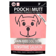 Pooch & Mutt Sensitive Salmon Grain Free Dog Treats 80g