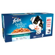 Felix As Good As It Looks Ocean Feasts Cat Food