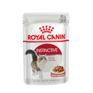 Royal Canin Health Nutrition Instinctive in Gravy Cat Food 85g x 12