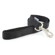 Ancol Heritage Nylon Dog Lead Black Black
