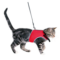 Trixie Soft Harness with Leash for Cats