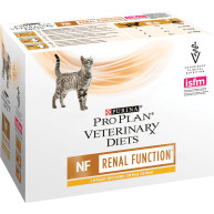 PURINA VETERINARY DIETS Feline NF Renal Function Cat Food 85g x 80 Pouches with Chicken