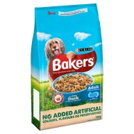 Bakers Complete Duck & Vegetables Adult Dog Food 14kg