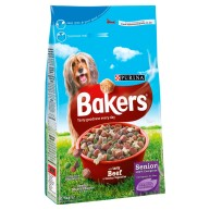 Bakers Complete Beef & Vegetables Senior Dog Food 2.7kg