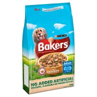 Bakers Complete Chicken & Vegetable Adult Dog Food 14kg
