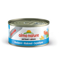 Almo Nature Legend Tins Fish Cat Food 70g x 24 Mackerel