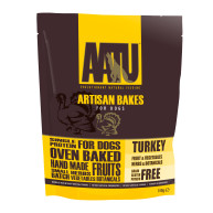 AATU Turkey Artisan Bakes Dog Treats 150g