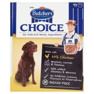 Butchers Choice Chicken and Vegetables Adult Dog Food Tray