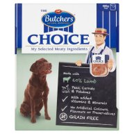Butchers Choice Lamb and Vegetables Adult Dog Food Tray
