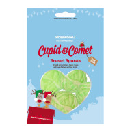 Rosewood Cupid & Comet Brussel Sprouts Dog Treats 60g
