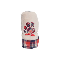 Rosewood Cupid & Comet Luxury Tartan Snuggle Blanket for Dogs