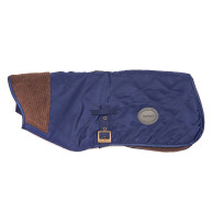 Barbour Quilted Navy Dog Coat