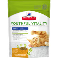 Hills Science Plan Feline Youthful Vitality Adult & Senior 7+ Chicken Dry Food 250g