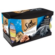 Sheba Favourites Collection in Gravy Adult Cat Dome Trays