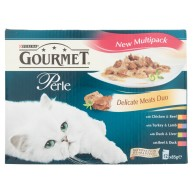 Gourmet Perle Delicate Meats Duo Cat Food 85g x 12