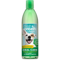 Tropiclean Fresh Breath Water Additive for Cats & Dogs 473ml