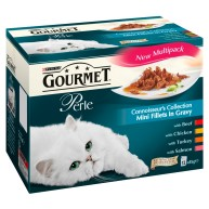 Gourmet Perle Connoisseurs Collection in Gravy Adult Cat Food 85g x 12