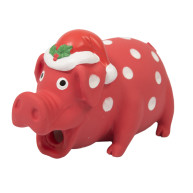 Good Boy Festive Piglet Dog Toy