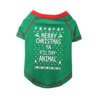 Rosewood Novelty Christmas T-Shirt for Dogs Small