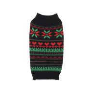 Rosewood Fair Isle Cosy Christmas Dog Jumper