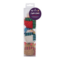 Rosewood Cupid & Comet Luxury Catnip Christmas Jingle Cat Toys