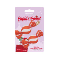 Rosewood Cupid & Comet Rattling Christmas Candy Cat Toy
