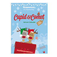 Rosewood Cupid & Comet Advent Calendar For Dogs 150g