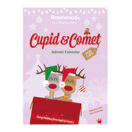 Rosewood Cupid & Comet Advent Calendar for Cats