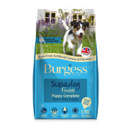 Burgess Supadog Complete Chicken Puppy Dog Food 12.5kg