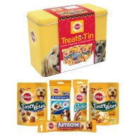 Pedigree Dog Treats Gift Tin
