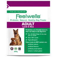 Feelwells Probiotic Lamb & Rice Healthy Dog Treats