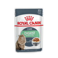 Royal Canin Health Nutrition Digest Sensitive Pouches Cat Food 85g x12