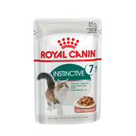 Royal Canin Health Nutrition Instinctive 7+ in Gravy Cat Food 85g x 12