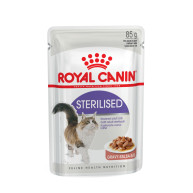 Royal Canin Health Nutrition Sterilised in Gravy Adult Cat Food 85g x 12
