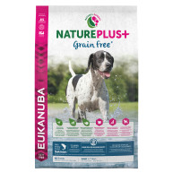 Eukanuba Nature Plus Salmon Grain Free All Breeds Adult Dog Food