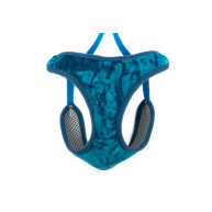 Ancol Velvet Cat Harness & Lead in Teal