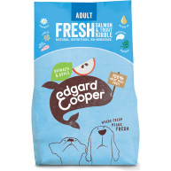 EdgardCooper Fresh Salmon & Trout with Spinach & Apple Adult Dog Food