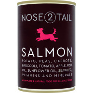 Nose 2 Tail Salmon Terrine Dog Food